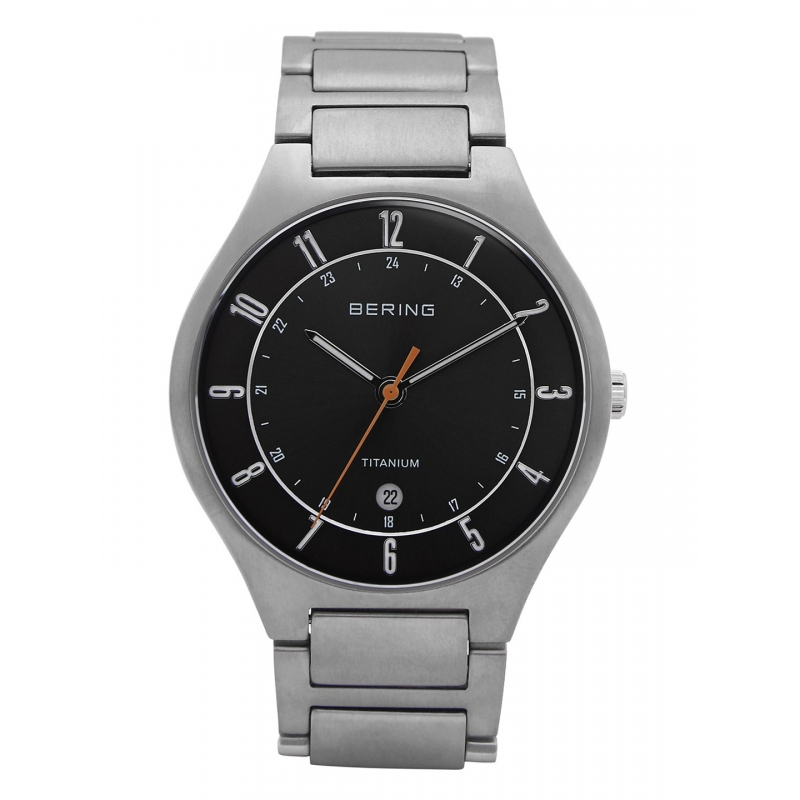 Bering Titanium 11739 772 Grey Dial Men S Watch Ct