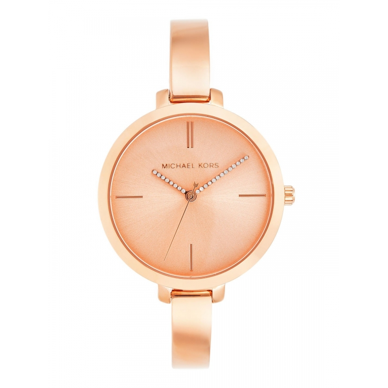 Michael Kors Jaryn Mk3735 Rose Gold Dial Women S Watch Ct Pundole