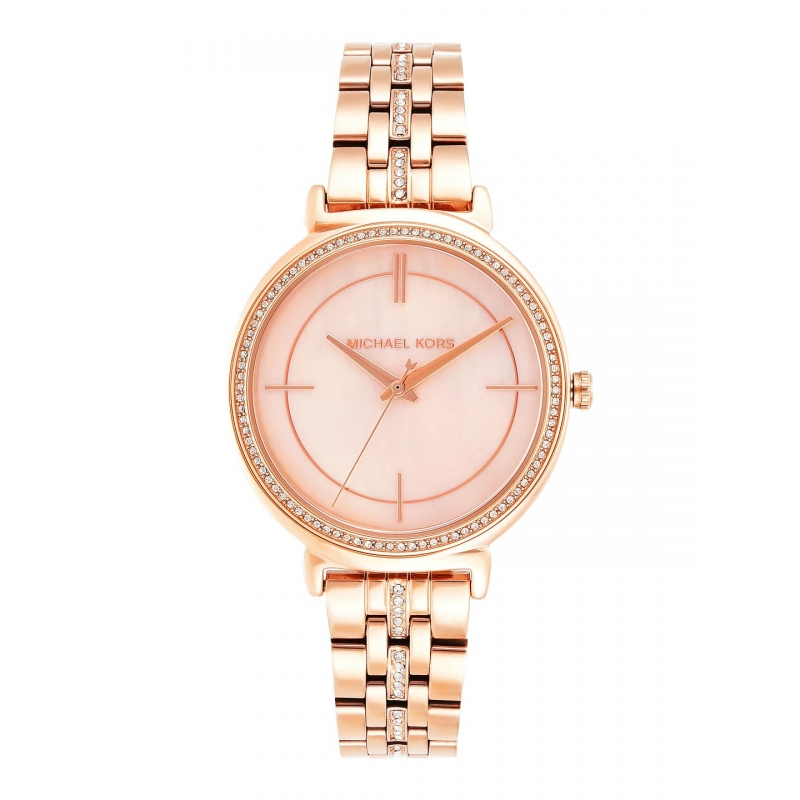 bdd8ee6c7 Michael Kors Cinthia MK3643 Mother of Pearl Dial Ladies Watch - CT ...