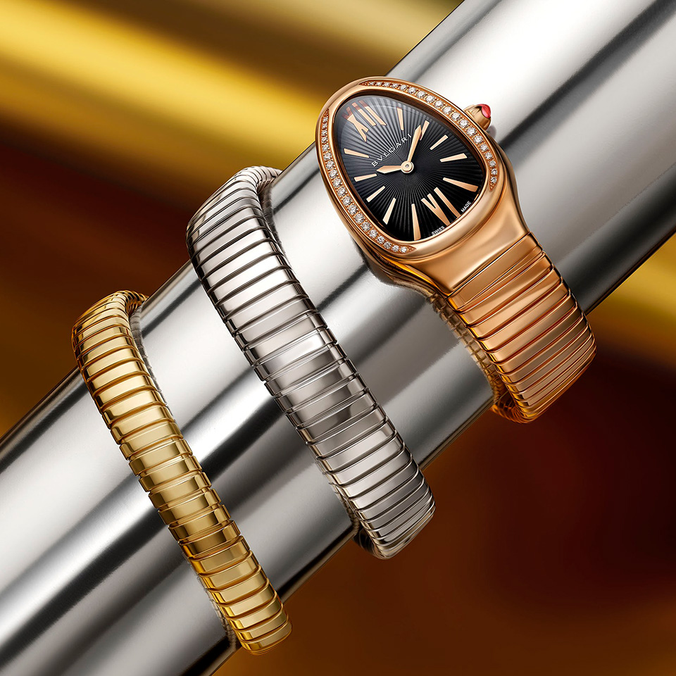 Premium luxury watches are generally constructed using materials such as titanium, gold, and platinum