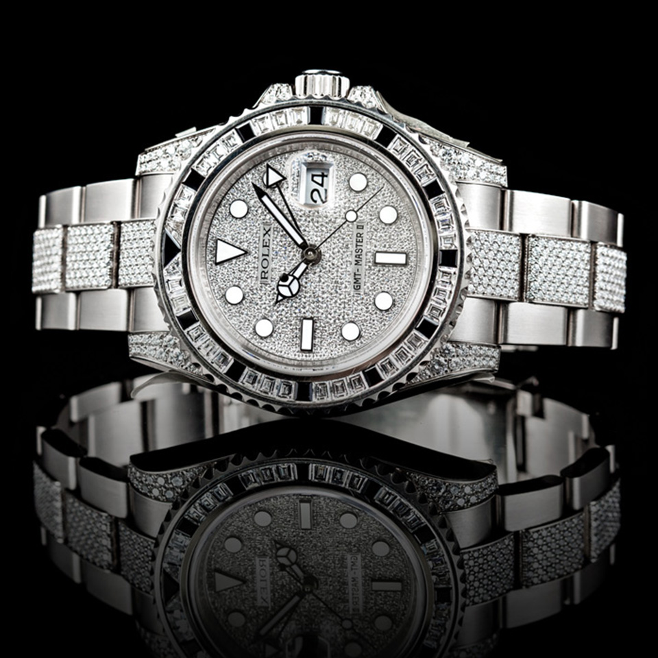Owning a Rolex, Rado, or Omega automatically guarantees you a stamp of success