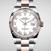 Rolex is introducing the new generation of the Oyster Perpetual Datejust 36 in Everose Rolesor. It is equipped with a 36mm case featuring redesigned lugs and sides, and calibre 3235, at the forefront of watchmaking technology. #Rolex #Datejust #CTPundole #CTPundoleHouseOfLuxury #OfficialRolexRetailer